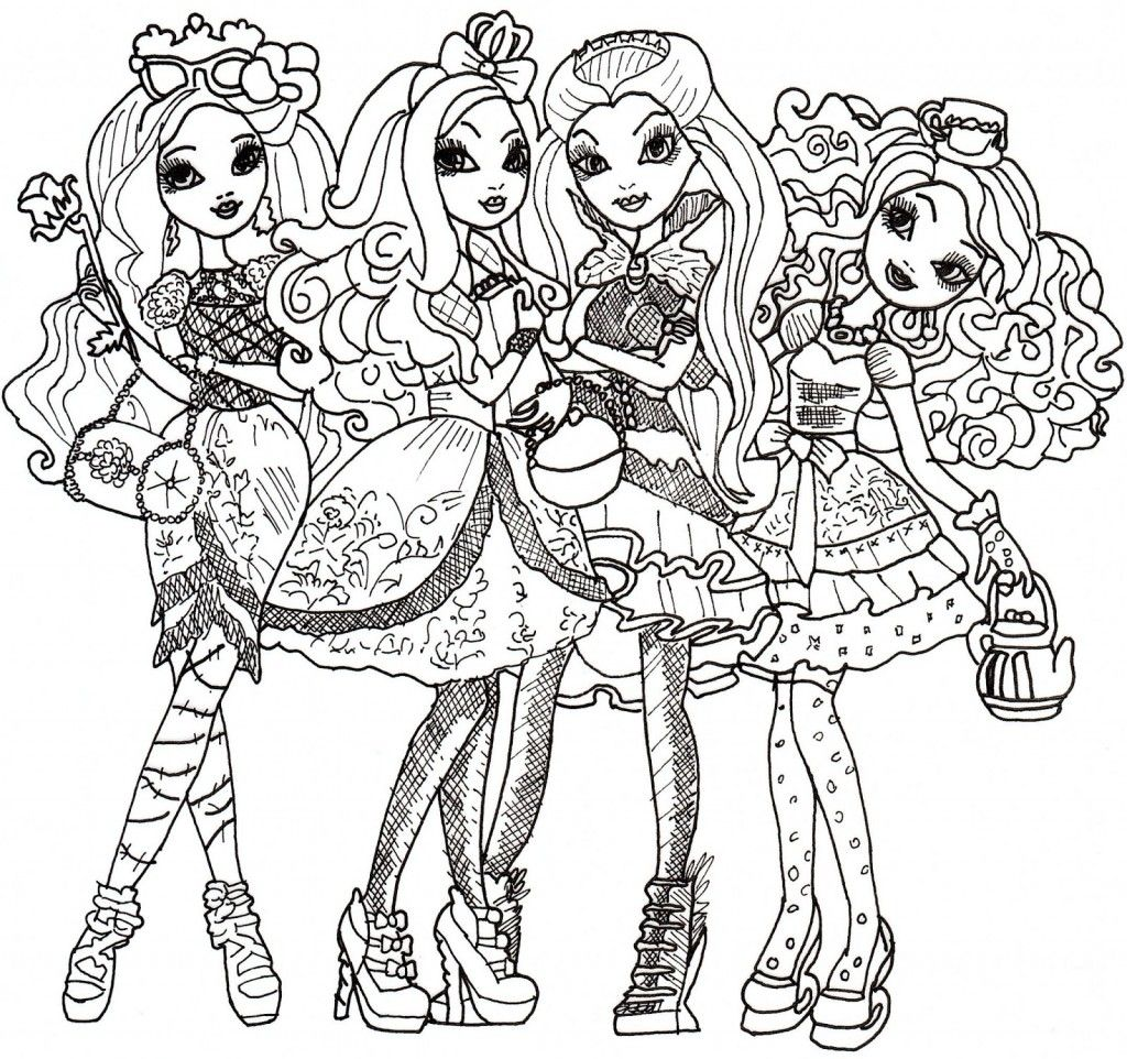 Ever After High Coloriage Coloring Pages Coloring Pages For