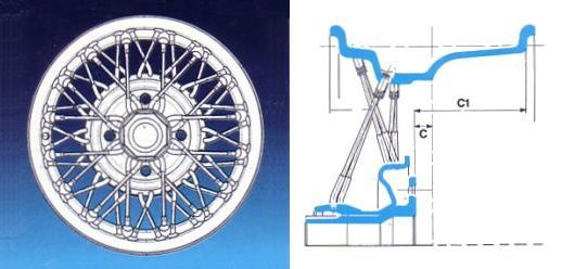 Borrani wire wheel smcars car blueprints forum ferrari borrani wire wheel smcars car blueprints forum malvernweather Choice Image