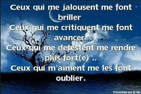 foto de La jalousie Proverbe vie Jalousie Citation