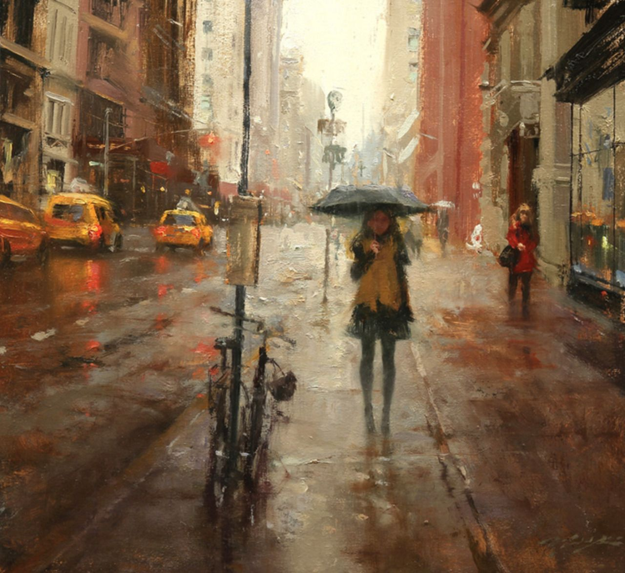 Hsin-Yao Tseng, Paintings.Emotionally potent, impressionistic cityscapes and figurative paintings by artist Hsin-Yao Tseng. Do you follow Supersonic Art on Instagram? You should definitely continue...