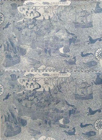 Newartcentre Marthe Armitage Wallpaper Island Design