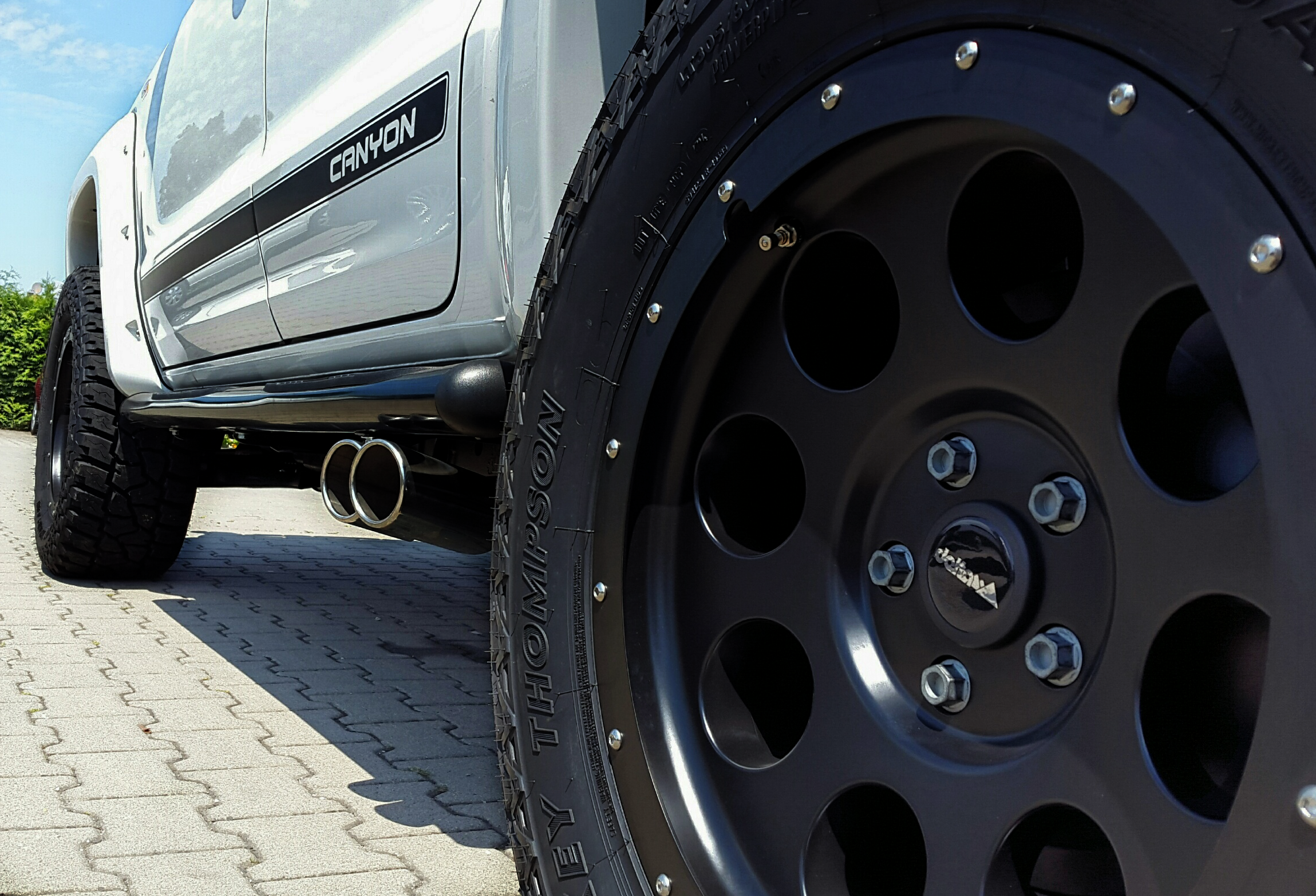 VW Amarok with Klassik B wheels by delta4x4   Amarok   Vw