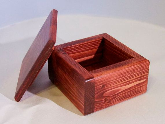 Small Wooden Box with Sedona Red Finish on Etsy $25.00 & Small Wooden Box with Sedona Red Finish on Etsy $25.00 | Wooden ... Aboutintivar.Com