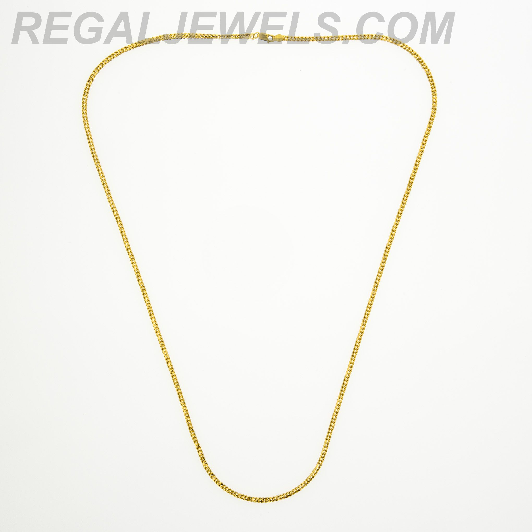 in wide raso and chain inches necklace chains yellow gold adjustable