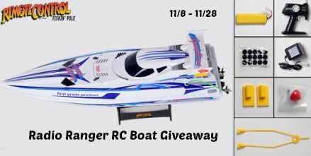 Boat giveaway contests