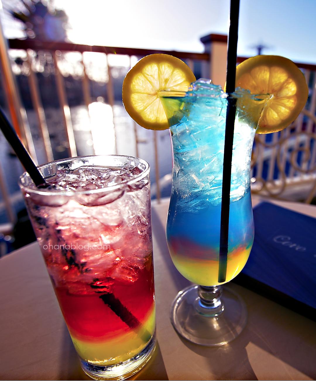 Disneyland Drinks // Cove Bar // Mickey's Fun Wheel