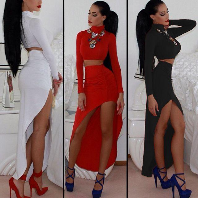 Long Skirt Sets