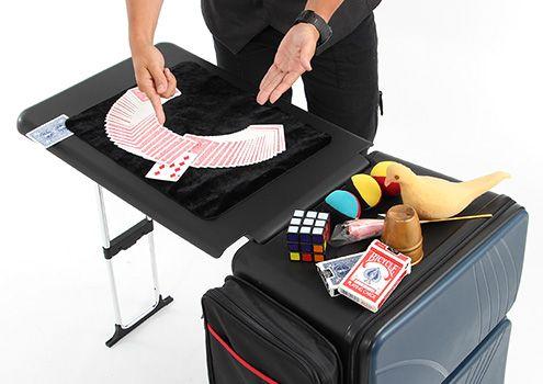 ドアを一歩出ればどんな場所でもマイオフィス。デスク付きスーツケース。 ノマドスーツケース BG2-279 / BG2-280 -BIBILAB(ビビラボ)-