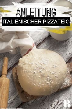 Photo of Italian pizza dough