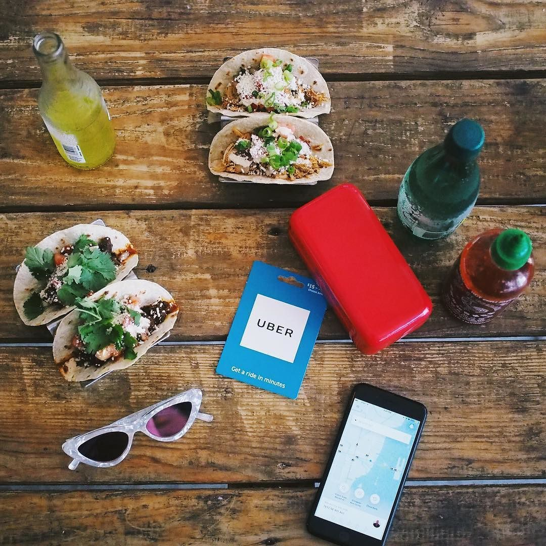 Giving the gift of @uber and tacos this holiday season. Uber gift cards may just be the most brill idea ever. Peep the blog for more deets. #ad