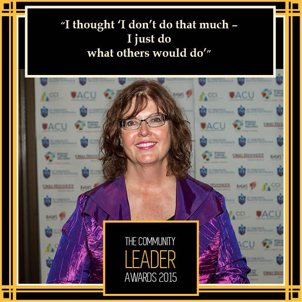 @Pam Radcliffe, Community Leader of the Year 2014  #theleaders2015