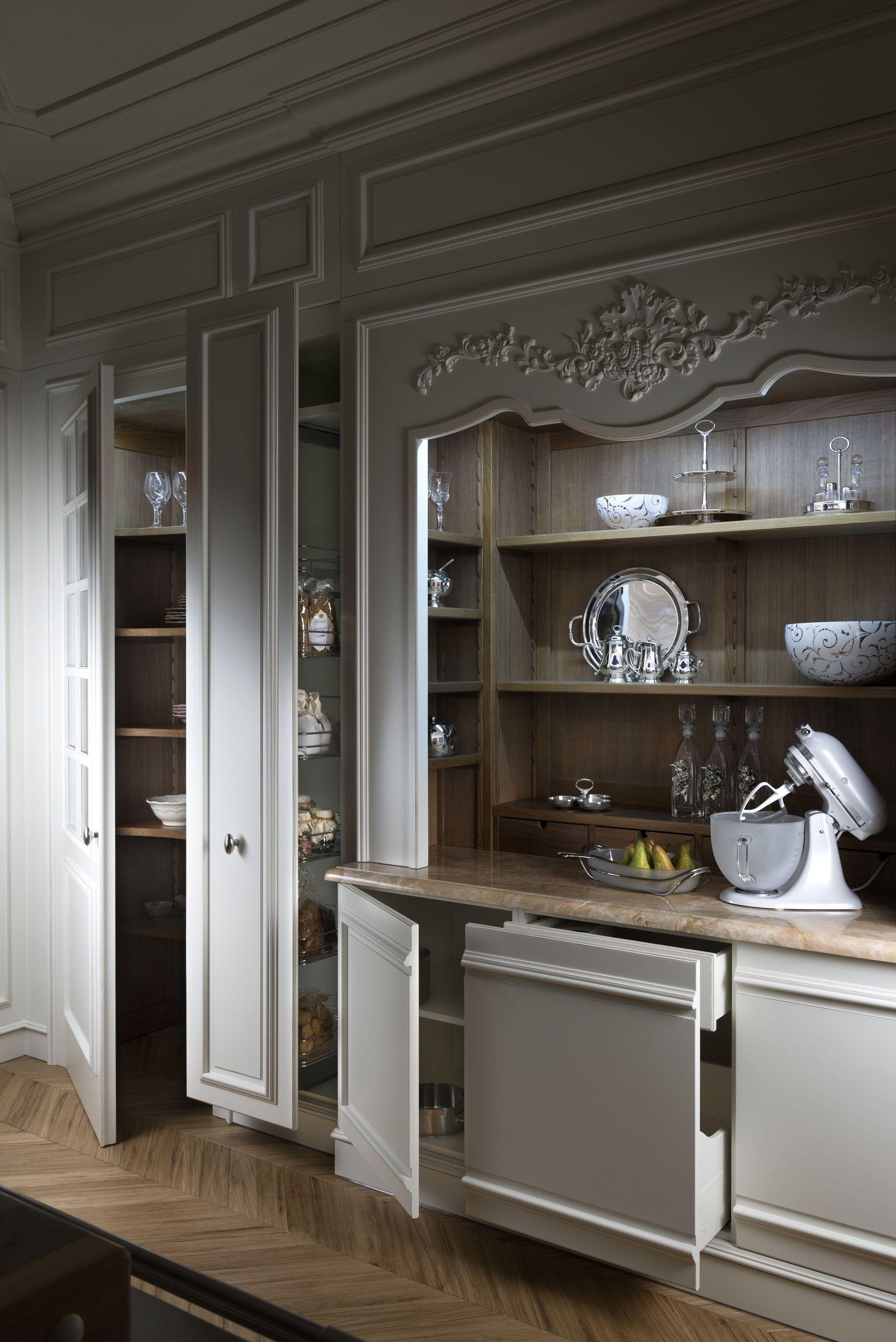 Cucina componibile su misura Collezione Floral by L ...