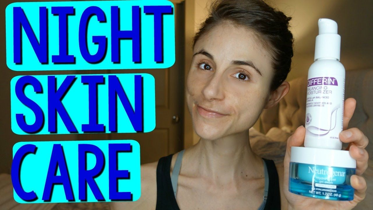 A Dermatologist Shows Her Nightime Skin Care Routine Youtube