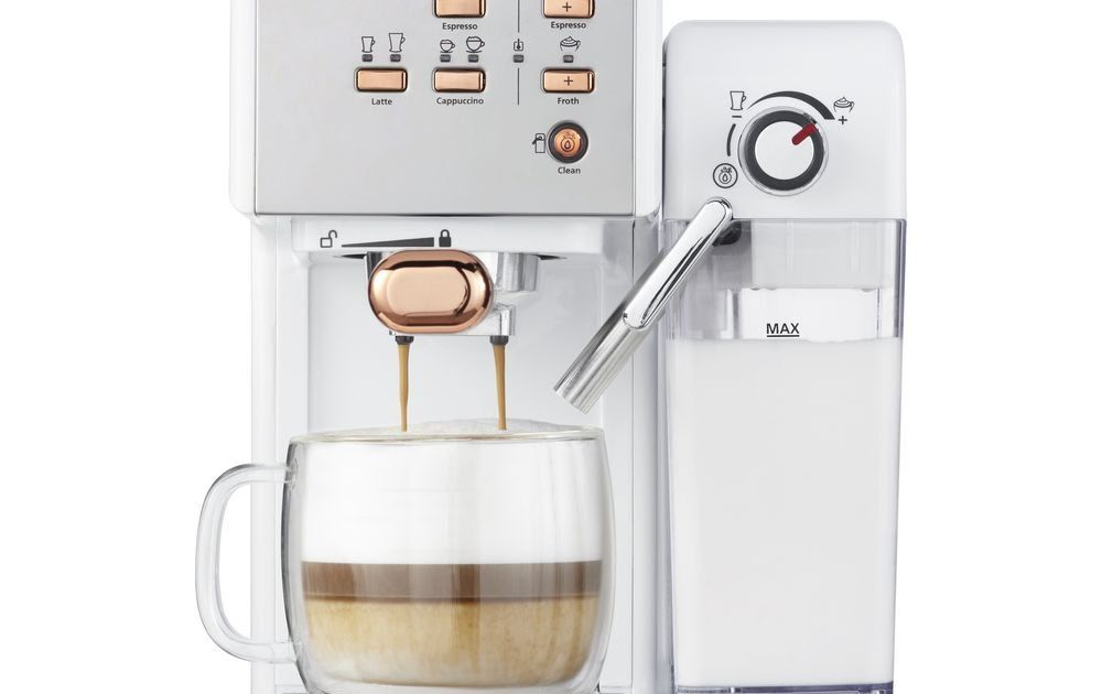 Buy Breville One Touch Vcf108 Coffee Machine White Rose Gold Breville Barista 2020