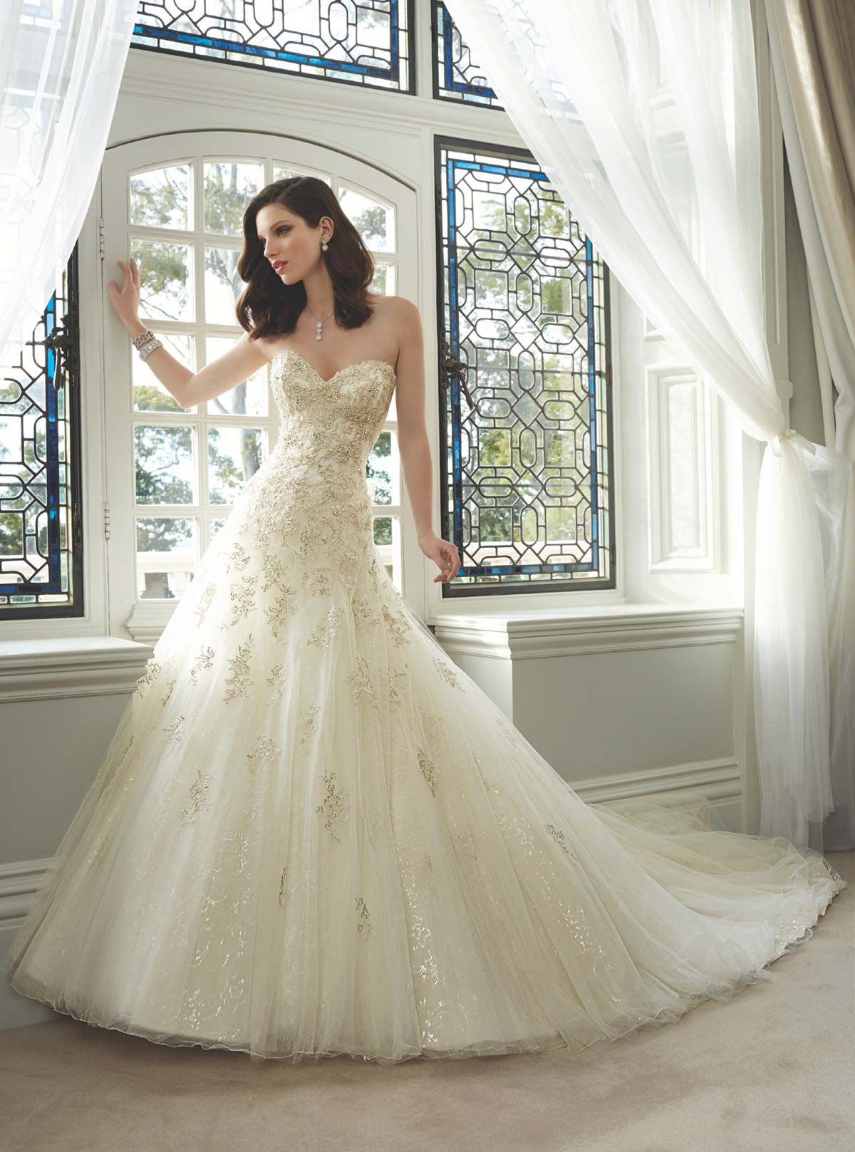 Sophia Tolli Y11630   Sophia Tolli Check with Amour Bridal to see if ...