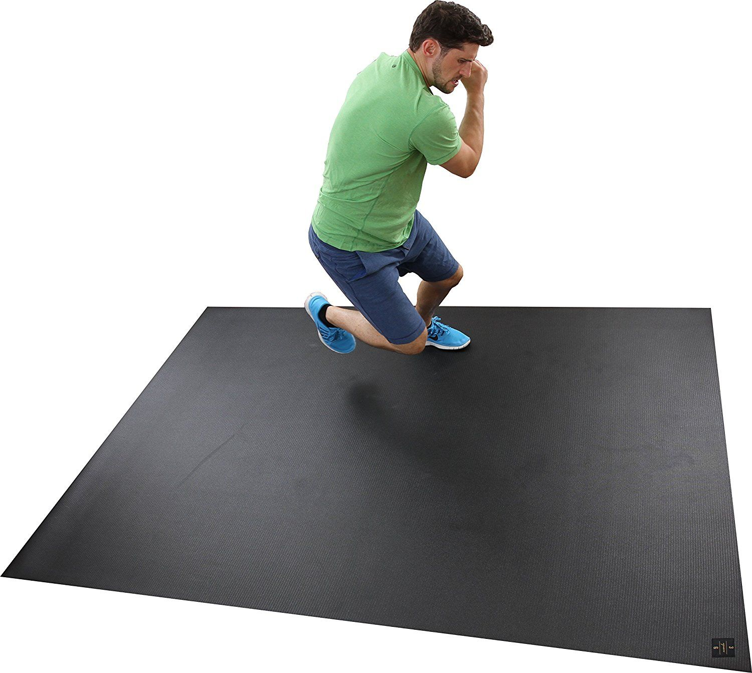 large black soft mat floor softfloor gym workout product mats interlocking blue home uk