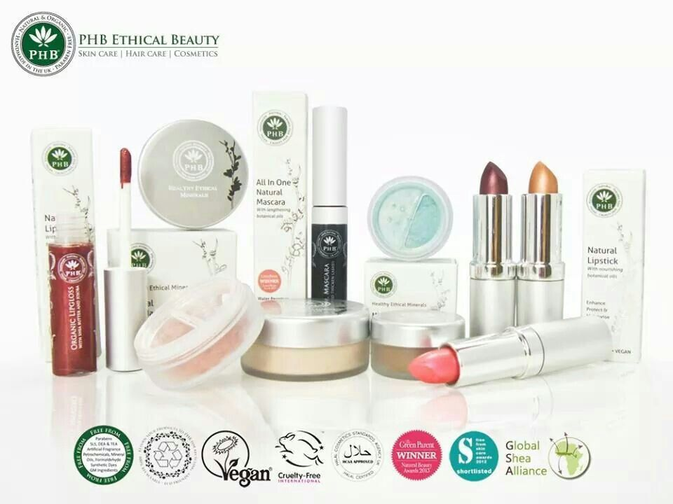 PHB Ethical Beauty | Natural lipstick, Cosmetics brands, Ethical ...