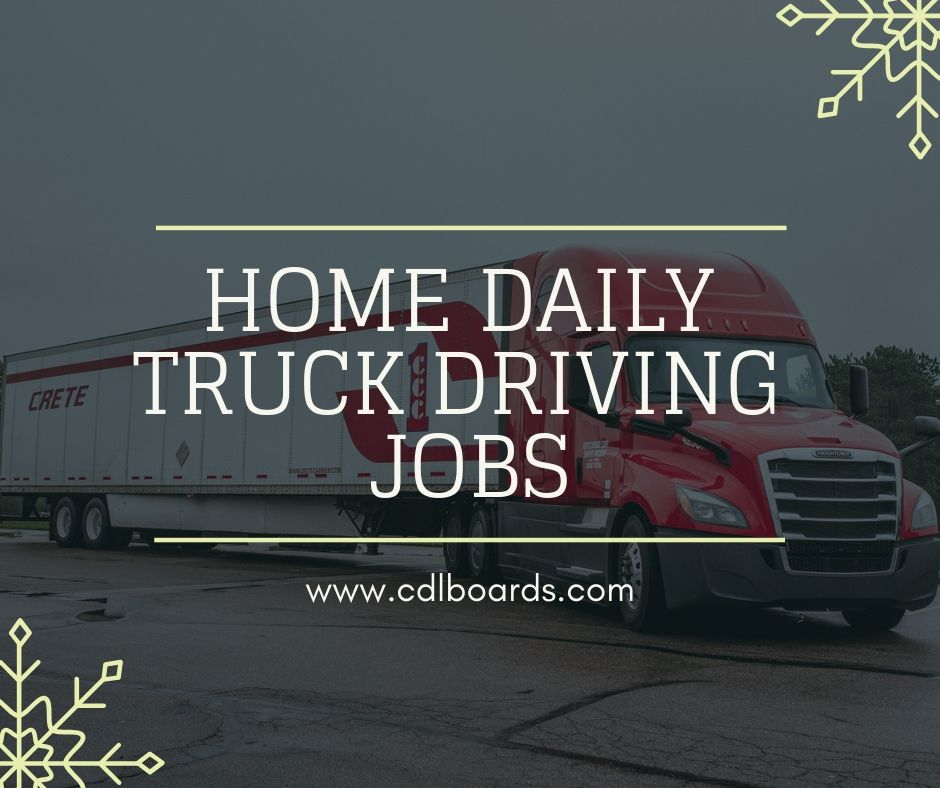Home Daily Truck Driving Jobs Driving Jobs Truck Driving Jobs Delivery Driver Jobs