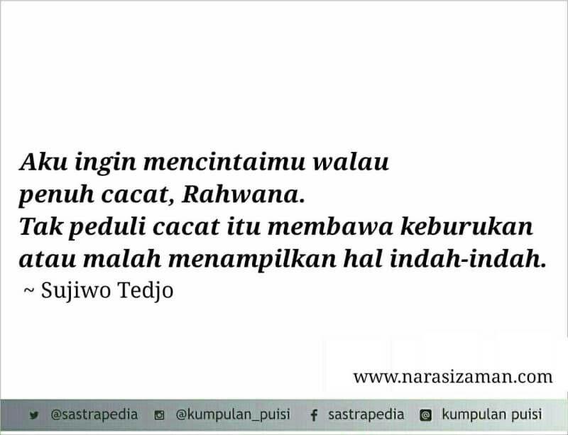 Sujiwo Tedjo Indonesian Poetry Poem Part 1 Poetry Poem Poems
