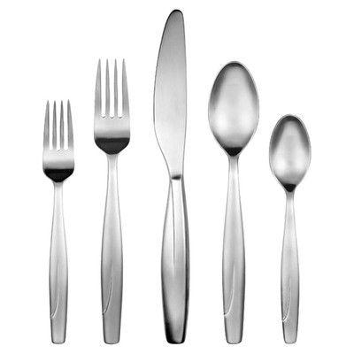 Gourmet Settings Continental 20 Piece Veil Flatware Set