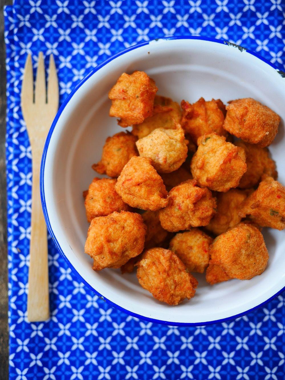 Beignet De Brocolis Au Four accras antillais sans friture, cuits au four