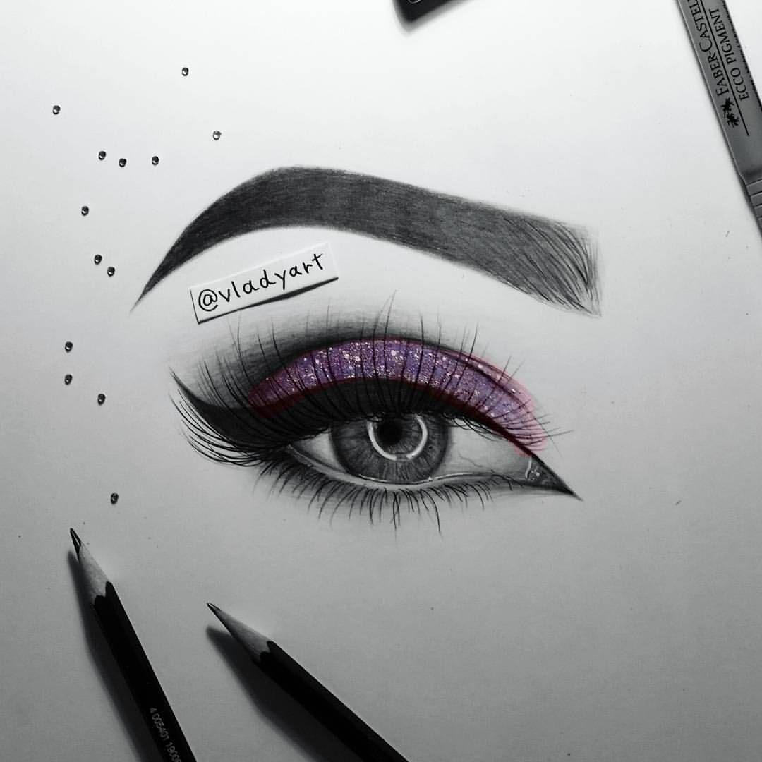 eye makeup drawing wwwpixsharkcom images galleries