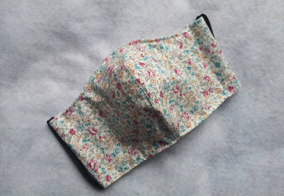 This Delicate Floral Lawn Face Mask Is The New Best Seller I Only Have Limited Stock Of This One So Get Yours Early If You Ha Dog Bandana Face Mask Dogs