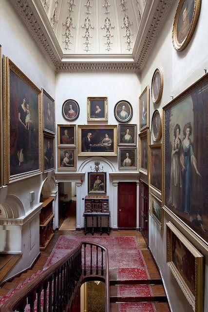 Gallery Hall Drumlanrig Castle Scotland English