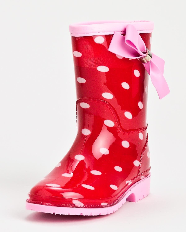 Henry Ferrera K-Poko Girls Rain Boots