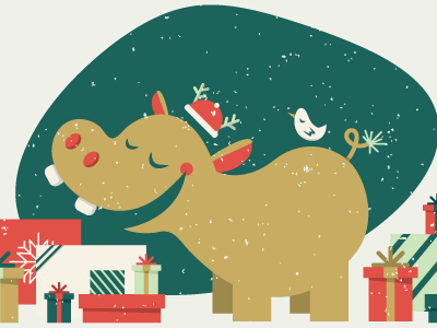 I Want A Hippocampus For Christmas.A Hippo Christmas Hippos For A Friend S Passion Hippo