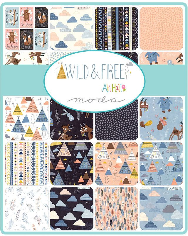 Wild And Free Charm Pack Moda 5 Inch Precut Fabric Squares Children S Wilderness Fabric Juvenile Animal F Precut Fabric Quilts Moda Fabrics Square Quilt