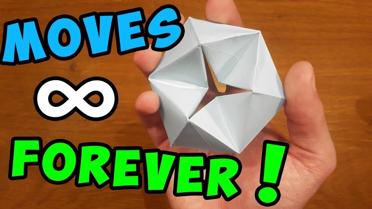 How to make a paper moving flexagon fun easy origami