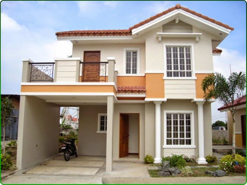 Simple 2 Story House Plans Philippines 2 storey house