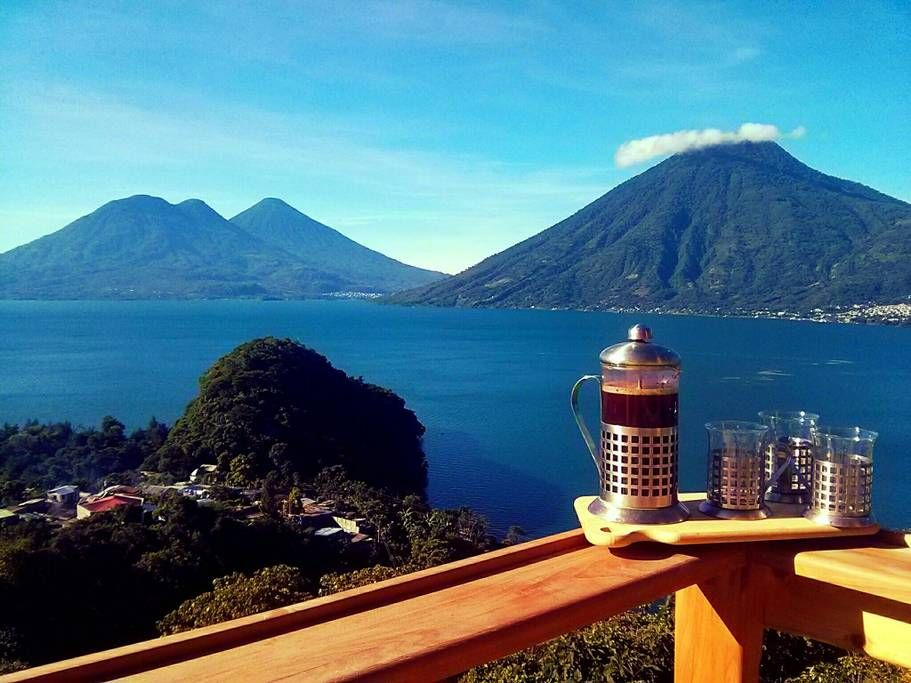 Entire Home X2f Apt In San Marcos La Laguna Gt Perched Above Tranquil Mayan Village Of San Marcos Imbued In The Visual Resona Lake Atitlan San Marco Laguna