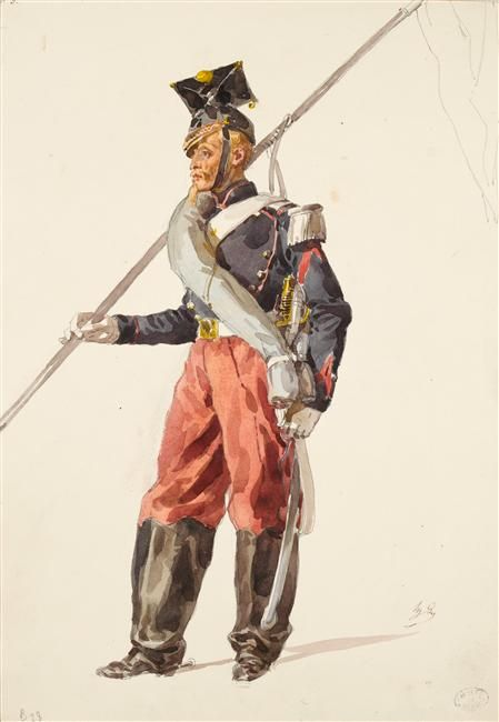 2nd Empire Plates Page 6 Military Artwork Military History French Army