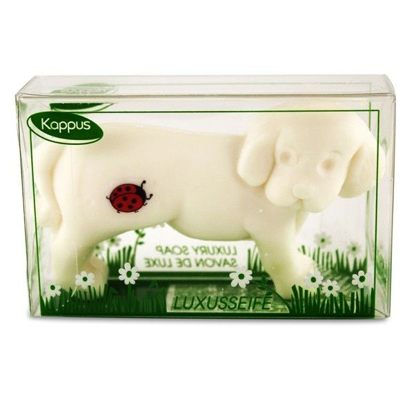 Kappus White Dog Soap 100g | Smallflower.com | Smallflower.com