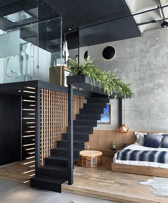 Pin by Jime Alvarez on Dream lofts Pinterest Interiors, Lofts