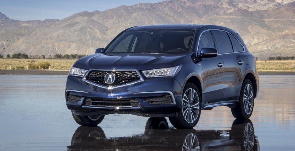 Acura MDX Sport Hybrid фото характеристики цена и компРектации