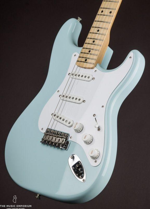 Fender 1954 Stratocaster NOS Sonic Blue (2014) #fenderstratocaster