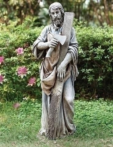 Saint Joseph The Carpenter Garden Statue Extra Large 36\