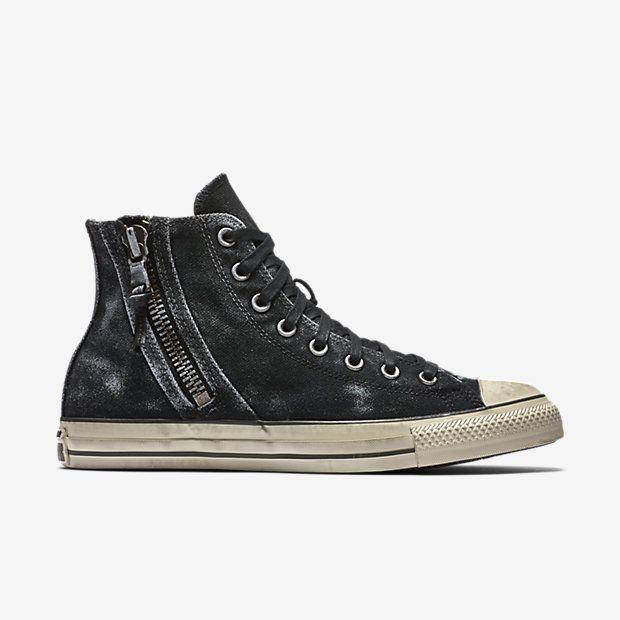 8a8fd24da463 Converse x John Varvatos Chuck Taylor All Star Side Zip High Top Unisex Shoe