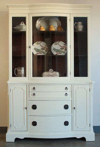 Vintage Duncan Phyfe China Cabinet - This is what it would look ...