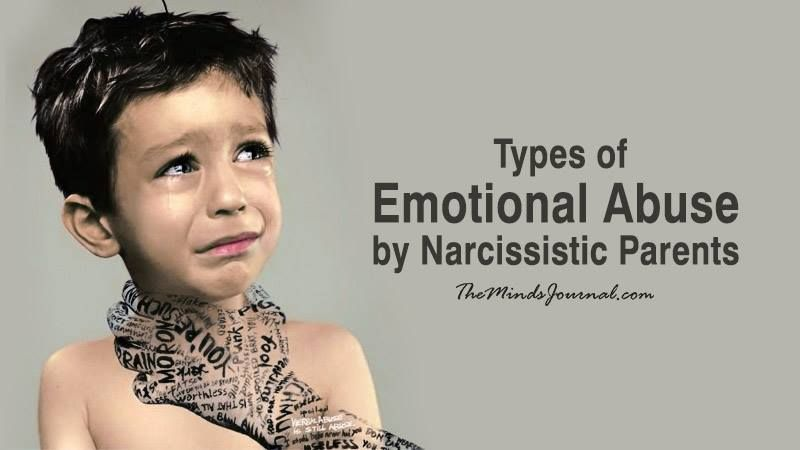 6 Types of Emotional Abuse by Narcissistic Parents