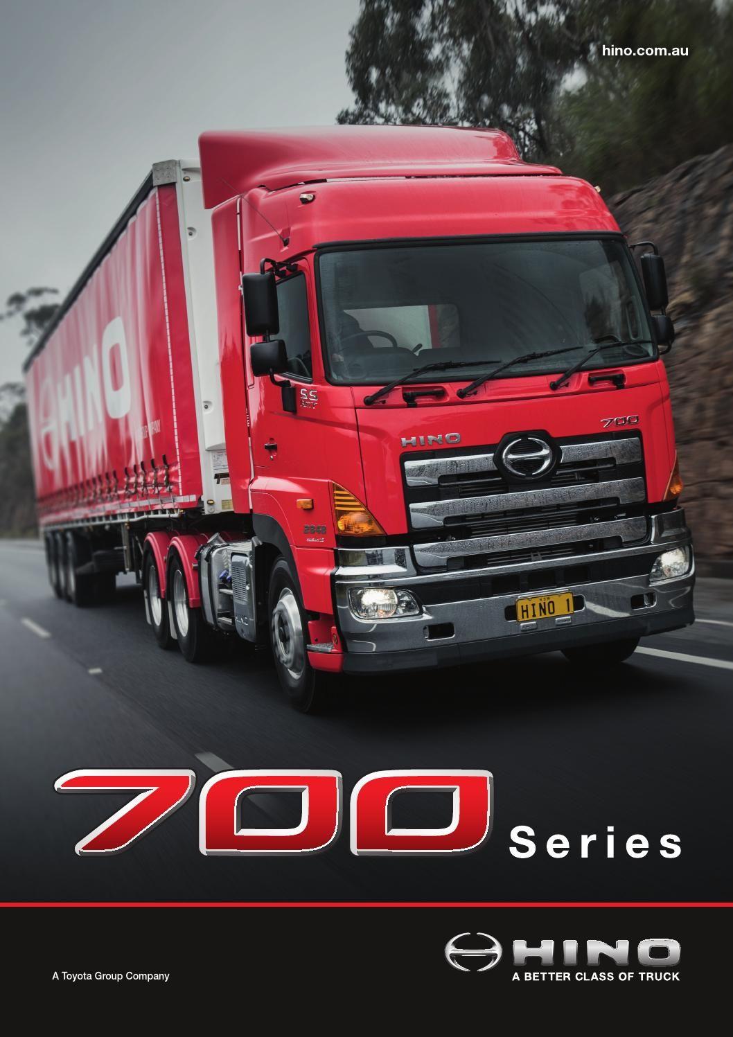 Hino 700 Series Hino New Trucks Trucks