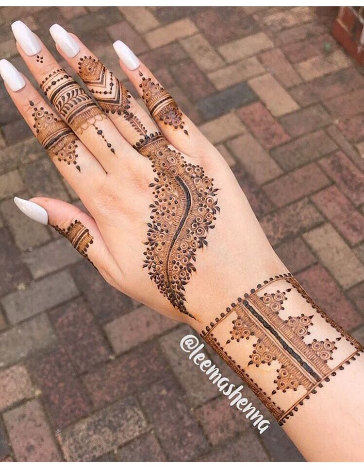 Pin By Parmi Maniar On Mehndi Mehndi Designs For Hands Mehndi
