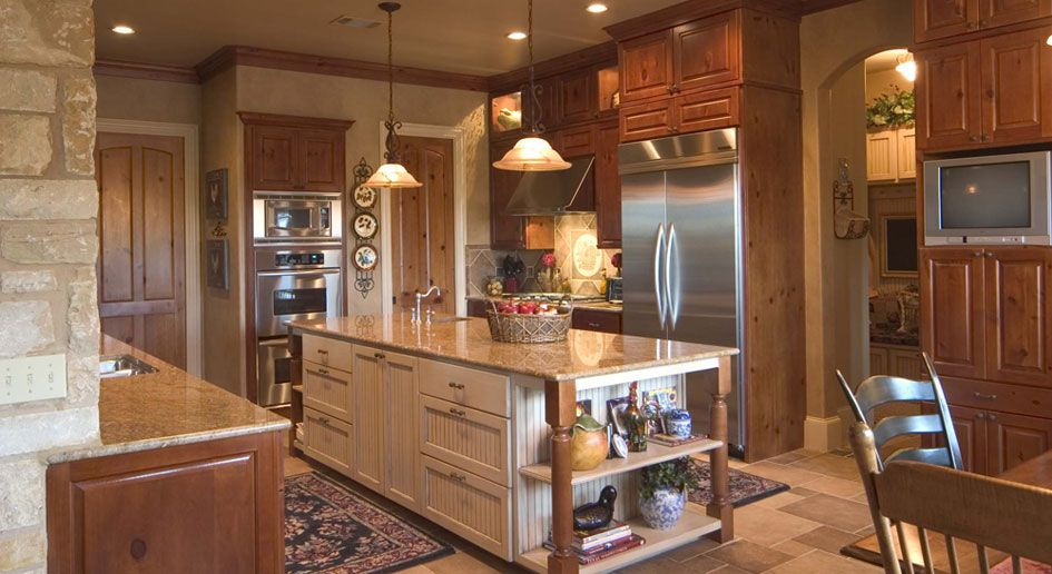 traditional kitchen with beaded v groove panel cabinet doors painted island cabinets and on kitchen interior cabinets id=36705