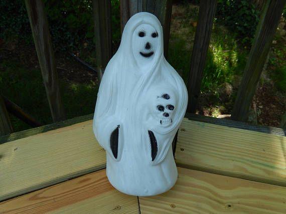 Vintage Holiday Halloween Cords Ghosts Porches Skulls Hardware Cable Verandas