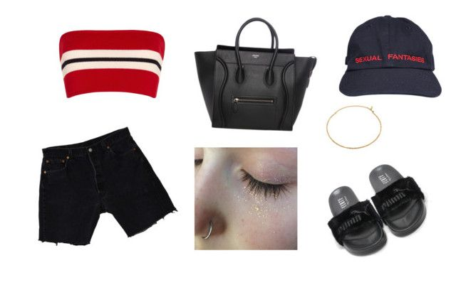 """""""Bud"""" by asteph21 ❤ liked on Polyvore featuring Levi's, Etienne Deroeux and Vanessa Mooney"""