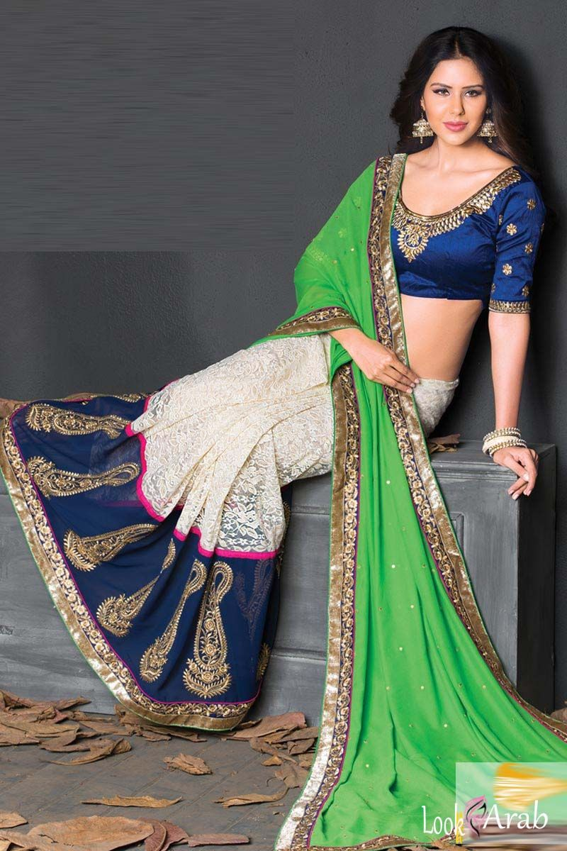 75f384def موديلات سارى هندى 2016 | هندي | Saree, Saree wedding, Lehenga style ...