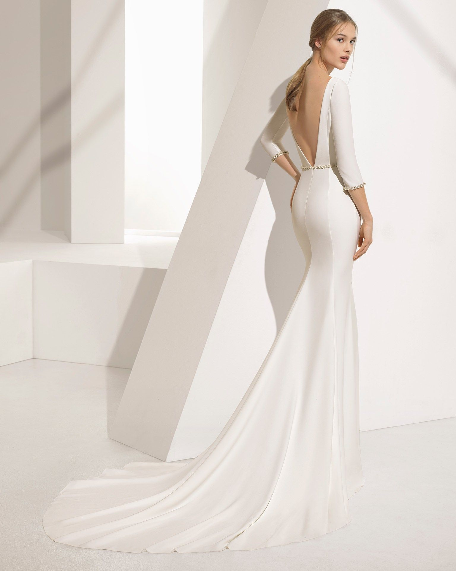 Beautifully timeless rosa clara wedding dresses couture